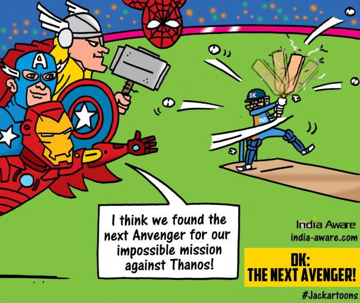 Dinesh Karthik: The next Avenger