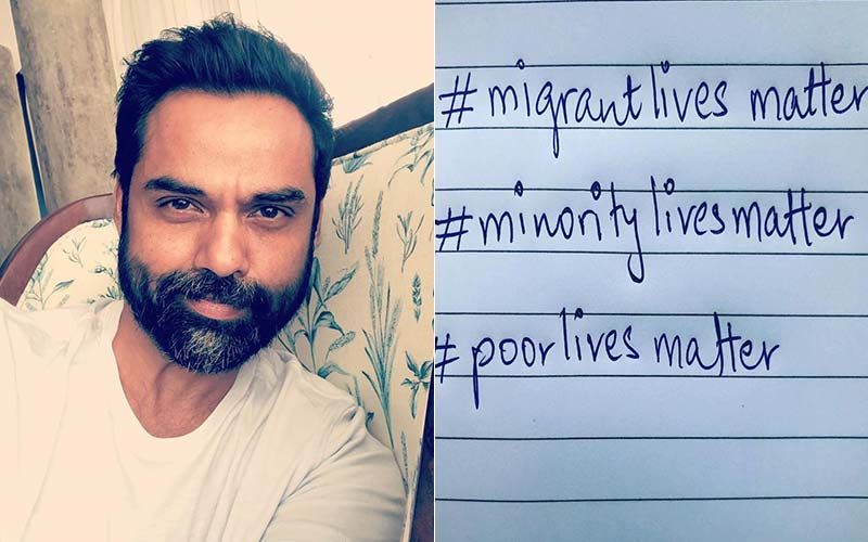 "Photo of ""Migrant lives matter"": Actor Abhay Deol slams celebrities who are blind to issues in India"